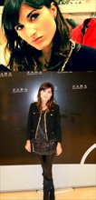 Kristina G. - Chanel Earrings, Celyn B. Blazer, Jimmy Choo Long Shirt, American Apparel Leather Leggings, Boots, Tiffany & Co. Bracelet - Pre-opening Cocktail @Zara's