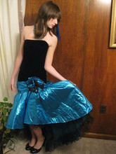 Culver Moon - Zum 80s Prom/Party Dress - I wish this were a mermaid's tail.