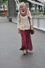 Dalillah Ismail - Forever 21 Jacket, Topshop Maxi Skirt, Hong Kong Moccasins - Get your jackets out!