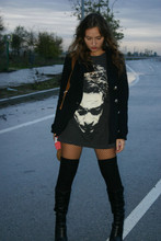 Marta Castellanos - Pimkie Jacket, Joker Tshirt, Lefties Boots - Guilty