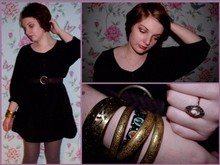 Katiiee . - Cameo The Label Vintage, French Connection Uk Dress, New Look Bangles - Bangles&Belts