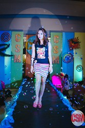 Rhea Inot - Bandage Skirt, Csm Shirt - Cebu Signature Models Fashion Show