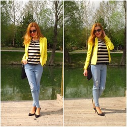 Melislicious Blog - Persun Blazer, Persun Blazer, Asos Jeans - Sun is Shining, the Weather is Sweet ...