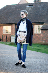 Daniella Robins - Isabel Marant Loafers - How I'm Making My Old Skirt New