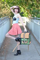 Amy Roiland - Jump From Paper Cartoon Backpack - Cartoon Time