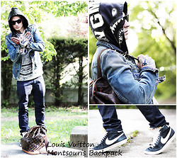 JustMahony ArtLee - Bape, Individual Jeansjacket, G Star, Louis Vuitton, Nike Blazer, Breaking Rocks, Tattoo, Gucci - Loui V !!