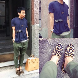 SOMAD • MATTHEW • 蘇柏傑 - Att Production Top, Comme Des Garçons Pants, Giacomorelli Loafers, Toga Accessory - Madlook #49 milano