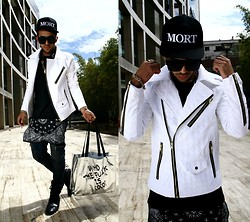 Khalil Alaoui - Modekungen Hat, Guylook Jacket, Guylook Tee, Guylook Jean, Choies Sunnies, Zubiro Bracelet, Zubiro Ring - I Don't Know Where I .