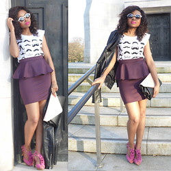 Laviniah K -  - Peplum Power