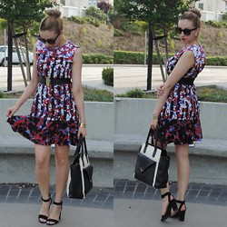 Celina Marie - Peter Pilotto Dress, Charlotte Russe Bag, Zara Heels - S/S with Peter Pilotto for Target