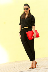WOWS . - On My Blog More Pics & Details - Black Jumpsuit