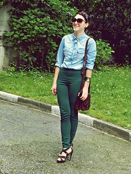 Lorenne C - H&M Pants, Esprit Purse, H&M Sunnies - The break!