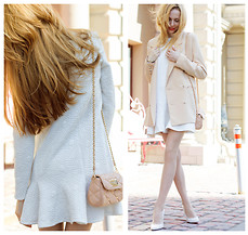 Tini Tani - Chic Wish Coat, Update Dress, Love Republic Bag, Zara Heels - UpDate