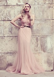 Silvia P. - Mlh Gown, H&M Earrings - Naked thoughts
