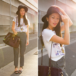 Connie Cao - Coach Bag - Checkers