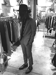 Hipsterken P - Handmade Hat, Handmade Suit, Shirt, 4 Tai Chi Bagua, Underground Creeper - Don't speak