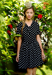 Oh, My Dress! ♡ - Oh, My Dress! Polka Dots Dress - Jardim Secreto