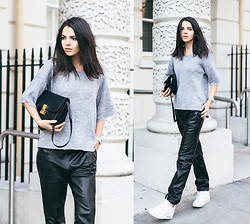 Doina Ciobanu - Joseph Pants - LEATHER BASICS