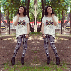 Emel Acar - Broken Love Leggings - Meowww