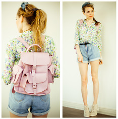 Tini Tani - Grafea Bag, Serginnetti Shirt, Zara Boots, Alena Yakim Hair Band - My Summer!!!!