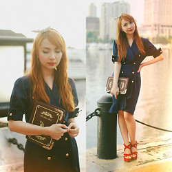 Bestie K - Dress, Bag - You can try but you'll never forget her name