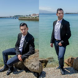 Mvesblog MEN - Zara Jacket, Massimo Dutti Pants, Zara Shirt, Zara Shoes - YSL Inspiration