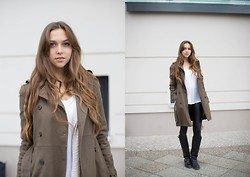 Jana Couture - Mango Trenchcoat, Tommy Hilfiger Boots - Trench Mood