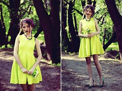 ♡Anita Kurkach♡ - Sheinside Dress, Romwe Jewerly, Asos Shoes - But I see your true colors.
