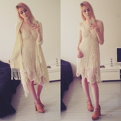 Rinka Essel - Zara Dress, Lindex Shawl, Topshop Shoes - Early summer