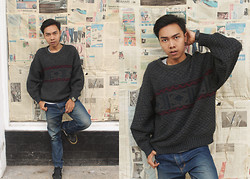 Chandra Pramana Putra - Local Sweater - Oldpaper
