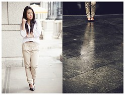 Thuy Pham - H&M Blouse, Bershka Chino Trousers - Reflection
