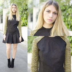 SARAH LOSS - Pierre)Henry Bor Tweed Dress - Pierre-Henry Bor's dress