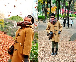 Butch Cervantes - Burberry Vintage Pea Coat, Forever 21 Knee High Boots - Living Life Fully
