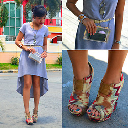 Shayne B - Forever 21 High Low Dress, Aldo Tribal Booties - Fresh Start