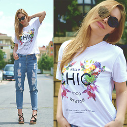 Kseniya Celikdelen - Persun Top, Hotiç Shoes - Hello Chic