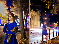 Jessica Biancon - Wish Dress, Threeofive Shawl, Threeofive Necklace, Asos Heels - Winter in the City