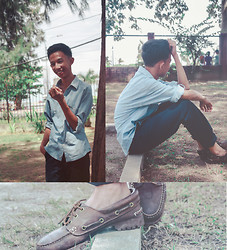 Larlo Ormoc - Timberland Boat Shoes, Denim Polo, Slocks - It's just a roleplay