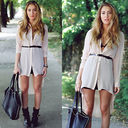 Elen Ellis - Queguapa Dress, Sheinside Bag, Asos Boots - WALKING THROUGH MY DREAMS
