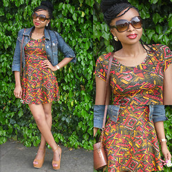 Laviniah K -  - Prints & Denim