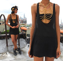Luna Nova - Chanel Scarf, Lookbook Market (Coming Soon!) Body Chain - Hot Child In The City