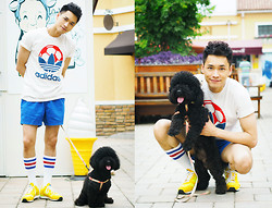 Chris Su - Adidas Top, Adidas Shoes - Happy Children's Day!