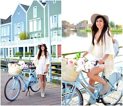 Tara Verbon - Supertrash Hat, Clarks Shoes - I want to ride my bicycle