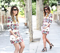 Cabinet in Ruins * - Sister Jane Dress, Zara Bag, Zara Sandals, Saint Laurent Sunnies - Collar Dress!!