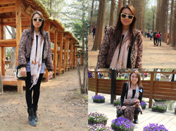 Alyssa Y - H&M Animal Print, Marks & Spencer Black, Forever 21 Denim, Guess? Two Tone, Therapy Black - Nami Island