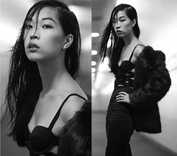 Cissy Zhang -  - Wet hair look