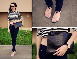 Kary Read♥ - Sandals, Frontrowshop Clutch - Love