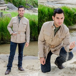 Mvesblog MEN - Zara Jeans, Massimo Dutti Jacket - Safari Jacket