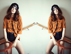 Sabina Olson - Sheinside T Shirt, Bikbok Shorts - Over my dead body #141