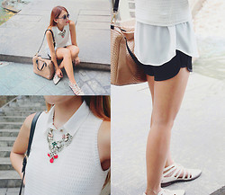 Danika Rio Navarro - Forever 21 Cut Out Oxfords - Summer Layers
