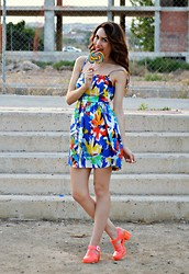 Tricchi TRC - Zara Dress, Juju Sandals - Lollipop ♥